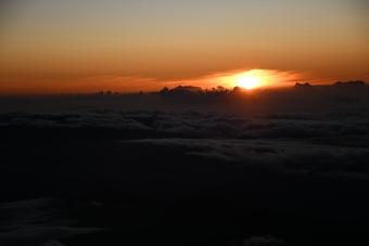 関東・富士山/快晴の富士山