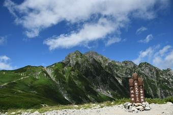 北アルプス/険路と憧れの剱岳