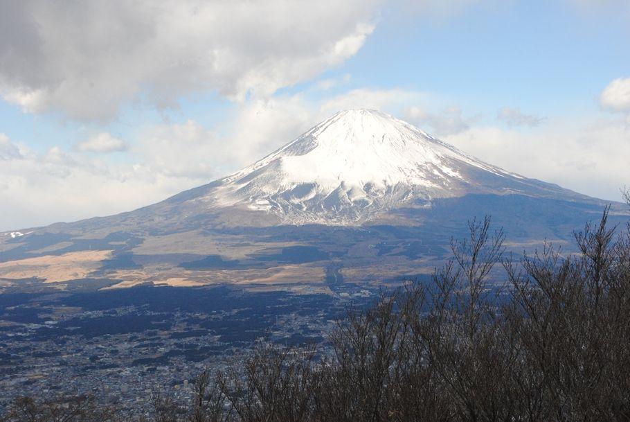 金時山山頂からの富士山