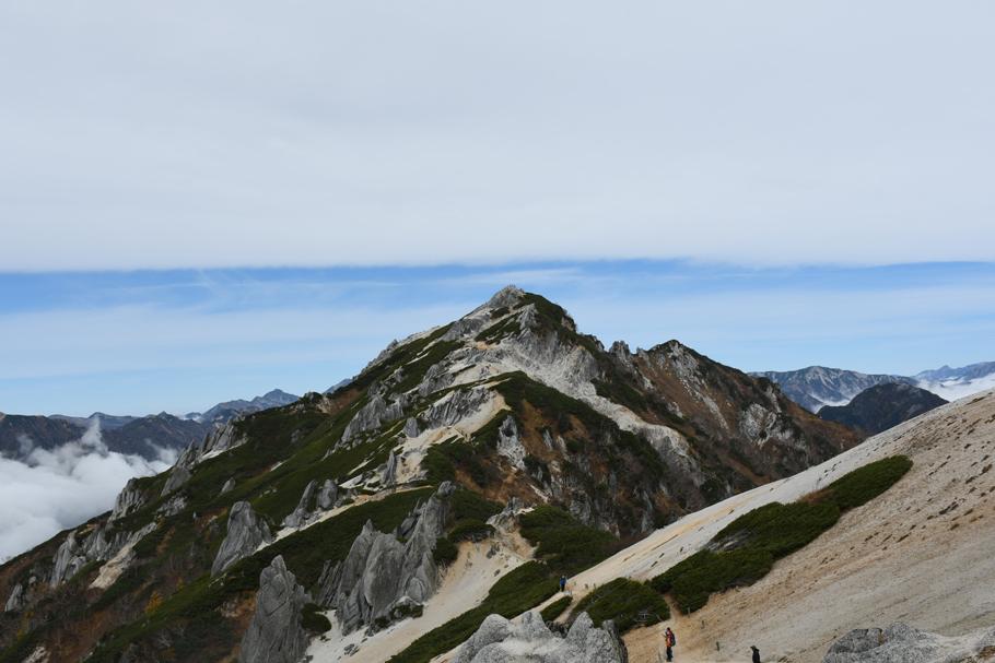 燕岳に登る