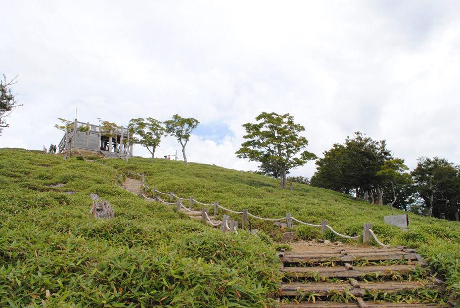 大台ケ原の最高峰・日出ケ岳
