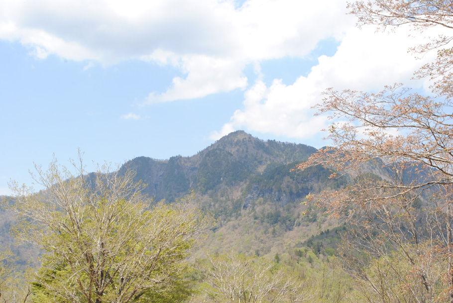 和佐又山山頂からの大普賢岳
