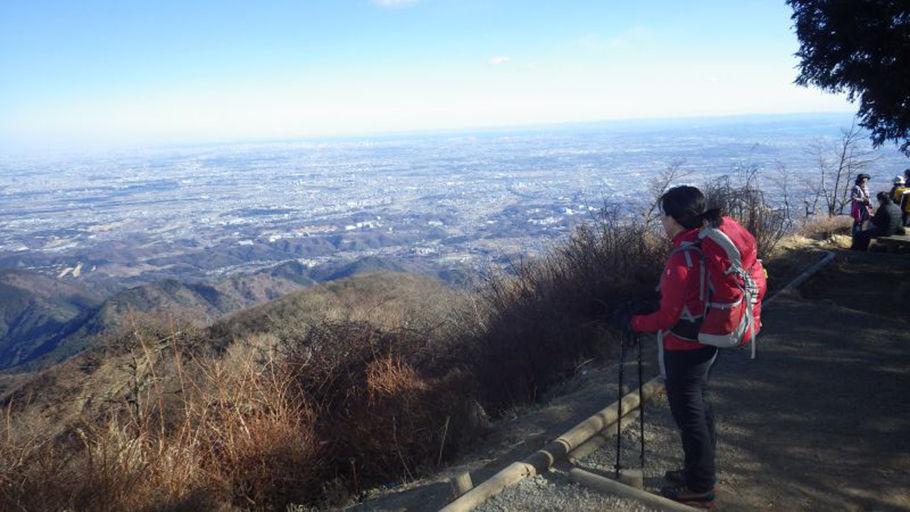 江戸情緒を伝える丹沢・大山(1252m)