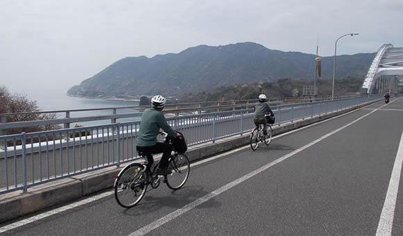 しまなみ海道70kmサイクリング
