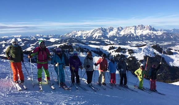海外スキーチロルアルプス二大氷河を滑る10日間