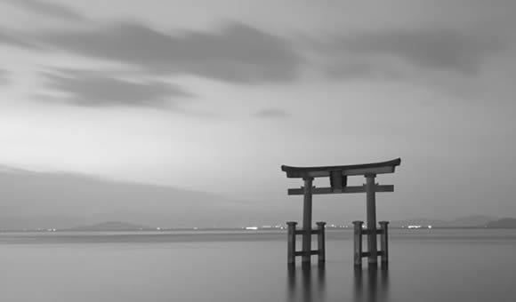 写真家大石忠彦先生とモノクロ写真を撮る晩秋の湖北へ