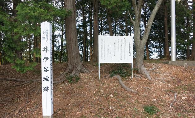 井伊谷城址(イメージ)