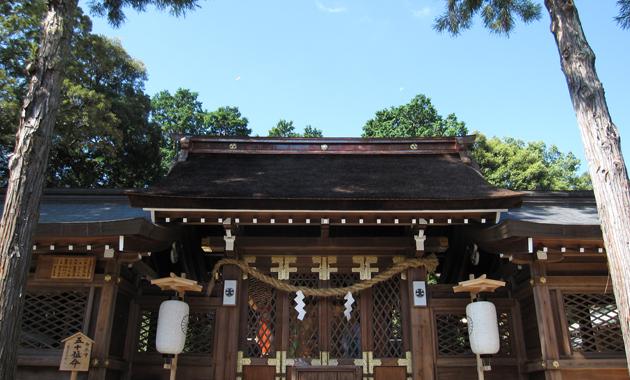 伊太祁曽神社(提供:一般社団法人 和歌山市観光協会)