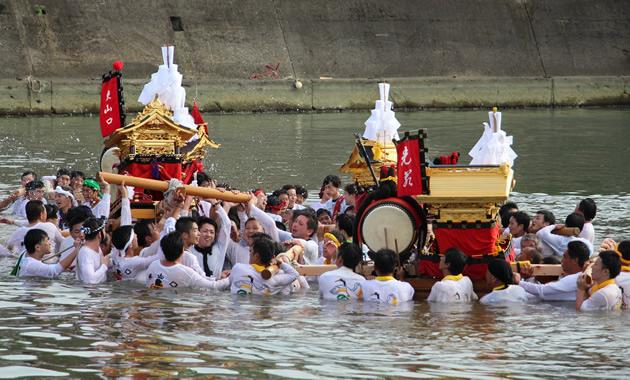 印南八幡神社祭1(イメージ)