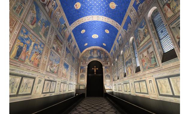 大塚国際美術館 スクロヴェーニ礼拝堂(写真は大塚国際美術館の展示作品を撮影したものです/イメージ)