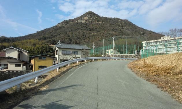 庄山城・全景(イメージ)