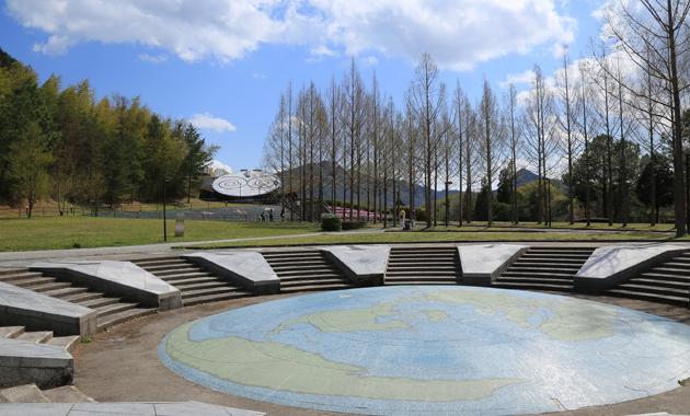 日本のへそ公園(イメージ)
