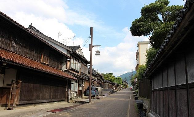 智頭宿(写真提供 智頭町観光協会)