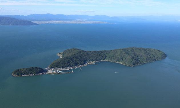 琵琶湖の秘境・沖島(イメージ)