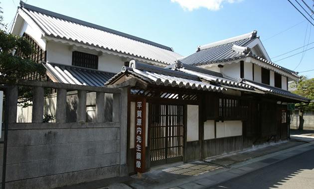 平賀源内旧邸(イメージ)