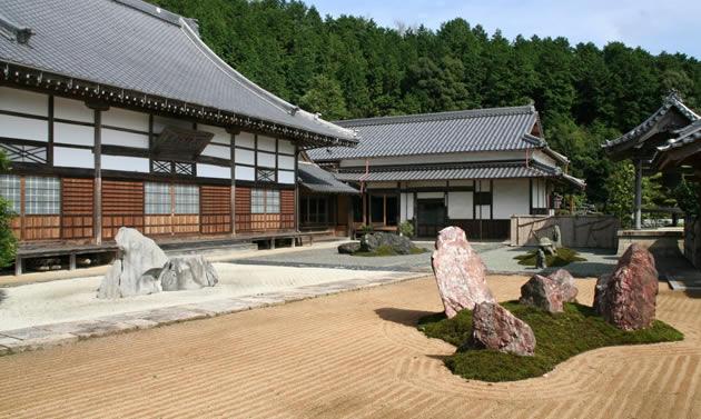 石像寺の四神相応の庭(イメージ)