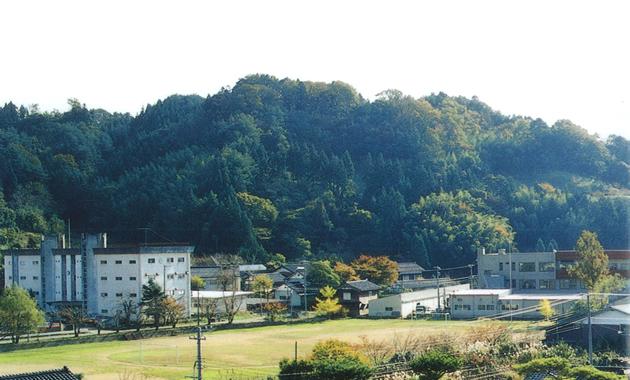羽茂城址・遠景(イメージ)