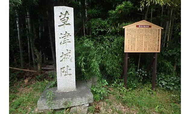 草津城址(イメージ)