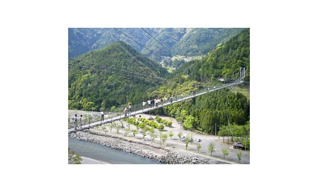 谷瀬の吊り橋(イメージ)