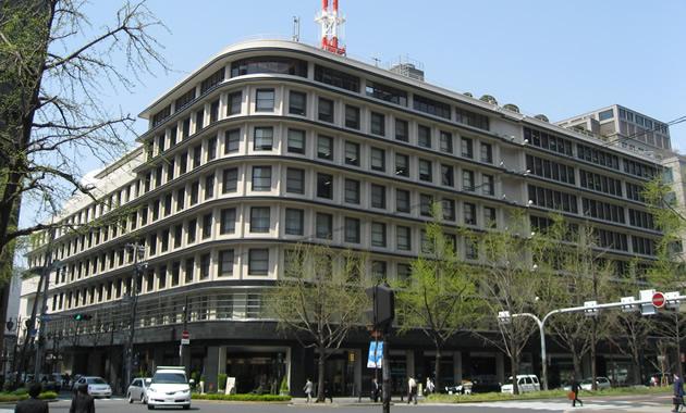 近代大阪のシンボル、ガスビル(登録有形文化財)(イメージ)
