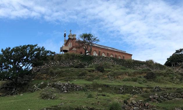 世界文化遺産旧野首教会(イメージ)