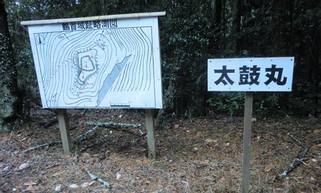 鶴首城址・太鼓丸(イメージ)