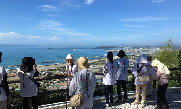 32番・禅師峰寺から見た海岸風景(イメージ)