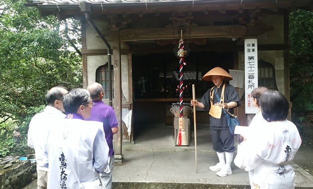 篠栗八十八ケ所72番・田ノ浦拝師堂(イメージ)