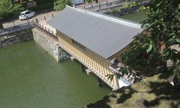 福井城・御廊下橋(イメージ)