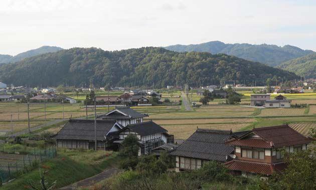 桂尾城・遠景(イメージ)