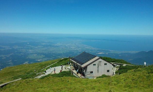 写真:大山山頂からの眺め(イメージ)