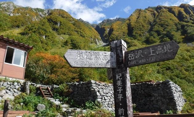 岳沢から前穂高岳を望む(イメージ)
