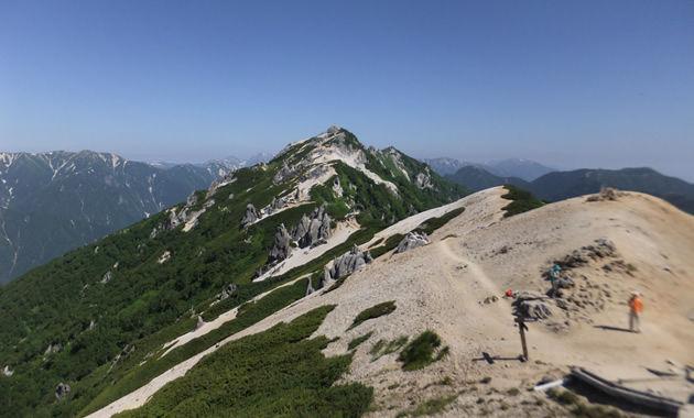燕岳山頂(イメージ)