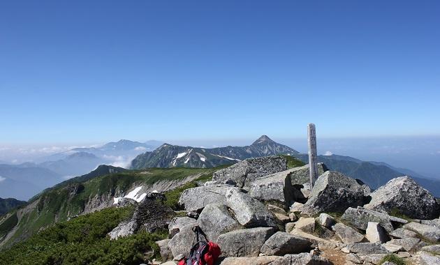双六岳山頂(イメージ)