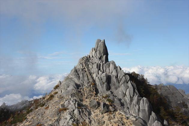 オベリスクで有名な地蔵岳(イメージ)