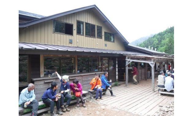 人気の赤岳鉱泉(イメージ)