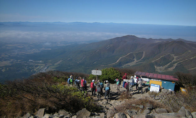 磐梯山山頂(イメージ)