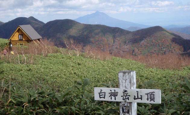 白神岳は一等三角点を持つ山(イメージ)