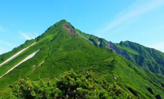 長官山付近から見た利尻山(イメージ) 写真提供:田中屋ひなげし館/撮影7月ごろ