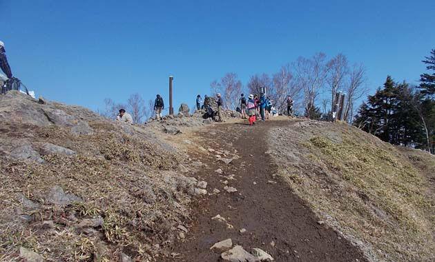 雲取山山頂付近(イメージ)