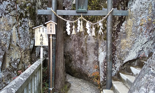 太郎坊宮・夫婦岩(イメージ)