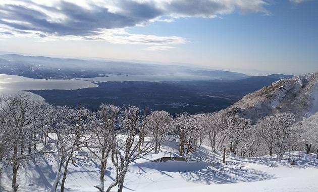 冬の蓬莱山へ(イメージ)