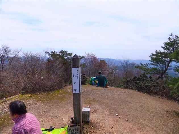 八ケ峰山頂(イメージ)