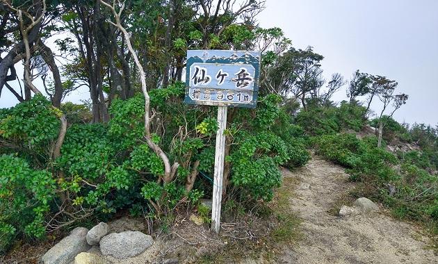 仙ヶ岳山頂(イメージ)