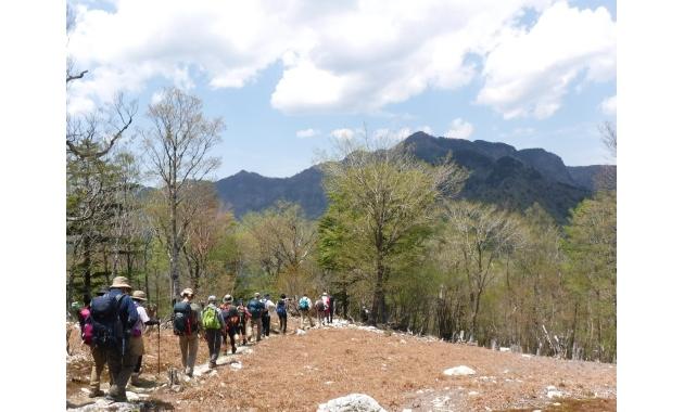 和佐又山から大普賢岳を望む(イメージ)