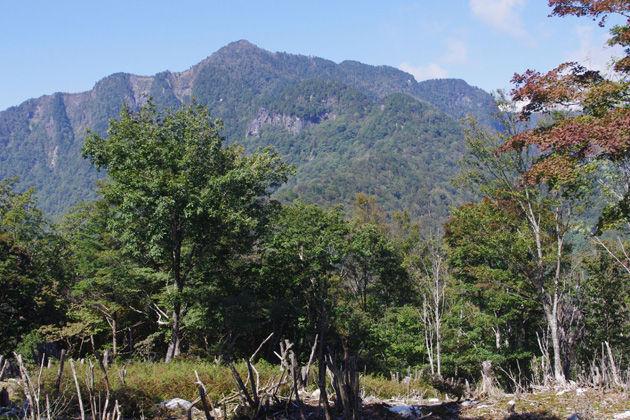 和佐又山から見た大普賢岳(イメージ)