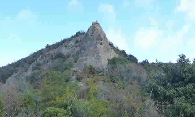 桶居講習会を行うかんざし岩(イメージ)