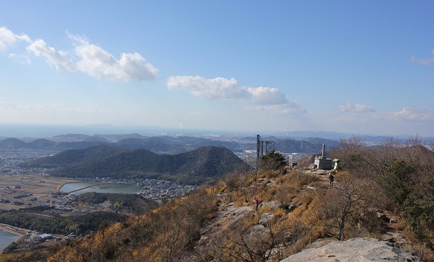 高御座山からの眺め(イメージ)