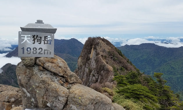 天狗岳山頂(イメージ)