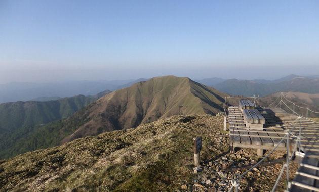剣山登山道(イメージ)
